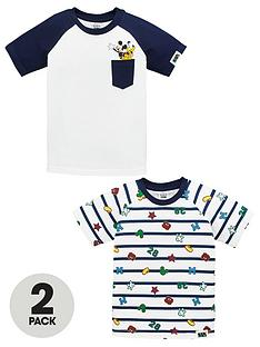 mickey-mouse-boys-pocket-detail-and-all-over-print-pack-of-2-tees-multi