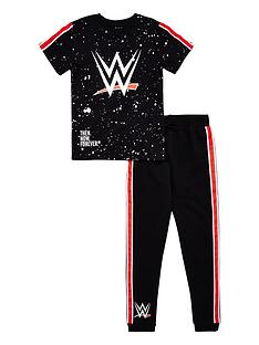 wwe-boys-t-shirt-and-jogger-set-black