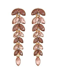 mood-mood-rose-gold-plated-pink-style-leaf-drop-earrings