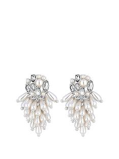 mood-mood-silver-plated-pearl-and-crystal-cluster-drop-earrings