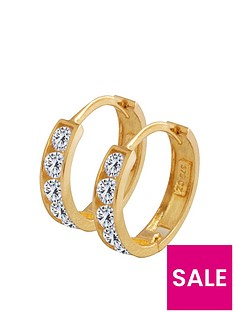 love-gold-9ct-gold-cubic-zirconia-huggie-hoop-earrings