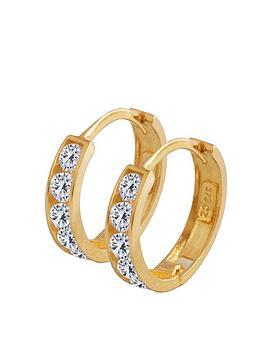 love-gold-9ct-gold-cubic-zirconia-huggie-hoop-earrings