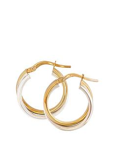 love-gold-9ct-gold-two-tone-round-oval-shaped-creole-hoop-earrings