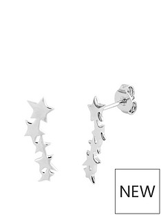 the-love-silver-collection-sterling-silver-polished-five-star-constellation-stud-earrings