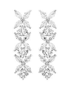 jon-richard-jon-richard-bridal-cubic-zirconia-crystal-floral-tennis-drop-earrings