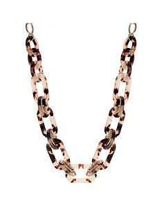 mood-gold-plated-tortoiseshell-link-necklace