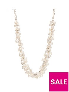 mood-mood-silver-plated-pearl-and-bead-cluster-necklace