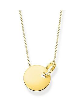 thomas-sabo-thomas-sabo-gold-plated-sterling-silver-together-coin-necklace