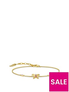 thomas-sabo-thomas-sabo-gold-plated-butterfly-bracelet