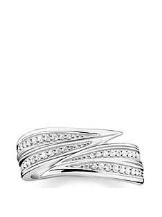 thomas-sabo-sterling-silver-leaf-ring