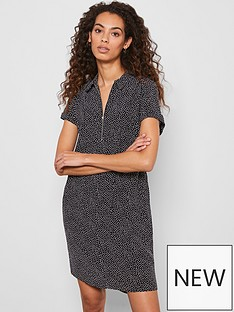 mint-velvet-spot-throw-on-midi-shirt-dress-black