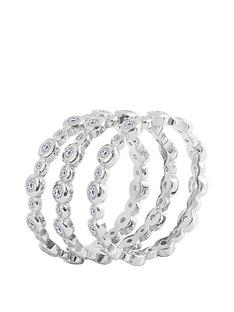 the-love-silver-collection-sterling-silver-bubble-cubic-zirconia-set-of-three-stacking-rings