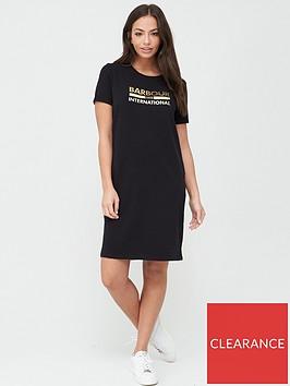 barbour-international-thunderbolt-dress-black