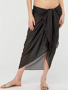 accessorize-sun-shimmer-beach-wrap-black