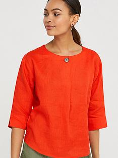 monsoon-scarlet-linen-t-shirt