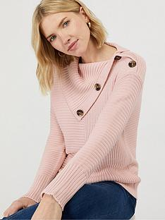 monsoon-suri-split-neck-jumper-soft-pink