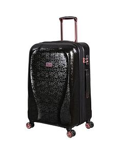 it-luggage-sparkle-black-medium-suitcase