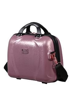 it-luggage-sparkle-pink-vanity-case