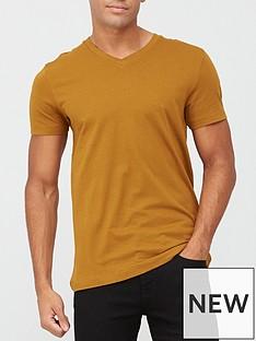 very-man-essentials-v-neck-t-shirt-bronze