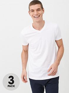 very-man-essentials-3-pack-v-neck-t-shirt-white