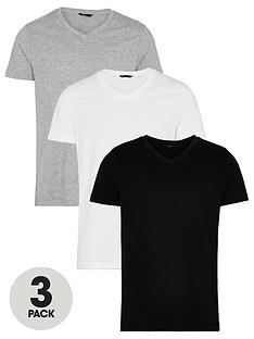very-man-essentialsnbspv-neck-t-shirt-3-pack-multi