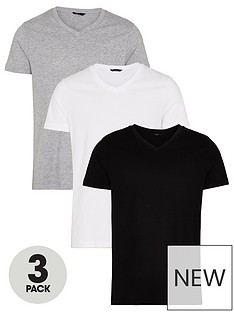 very-man-essentialsnbspv-neck-t-shirt-3-pack-multinbsp