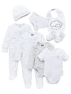 v-by-very-baby-giftingnbspbaby-unisex-cloud-8-piece-set-white-grey