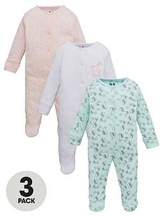 v-by-very-baby-girl-floral-and-unicorn-3-pack-sleepsuits-multi