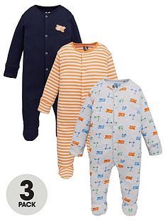 v-by-very-baby-boy-transportnbsp3-pack-sleepsuits-multi