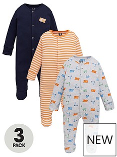 v-by-very-baby-boy-transportnbsp3-pack-sleepsuits-multi