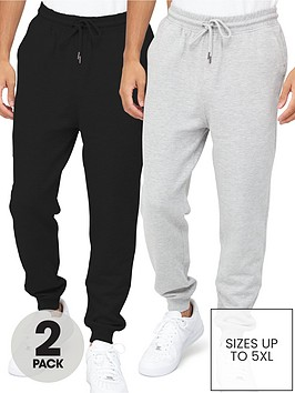 very-man-essential-jogger-2-pack-greyblack