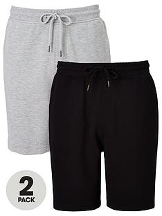 very-man-essential-jog-short-2-pack-blackgrey-marl