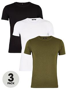 very-man-3-pack-muscle-fit-slub-t-shirt-multi
