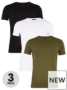 very-man-3-pack-muscle-fit-slub-t-shirt-multi