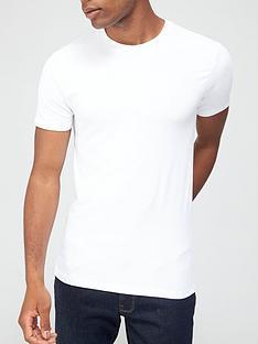 very-man-muscle-fit-slub-t-shirt-white