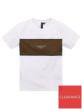 good-for-nothing-boys-panel-short-sleeve-t-shirt-white
