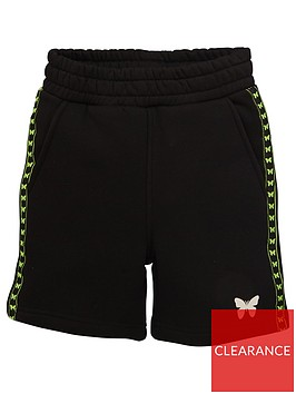 good-for-nothing-boys-taped-butterfly-jog-shorts-black