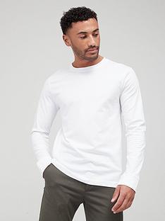 very-man-essentials-long-sleeve-t-shirt-white