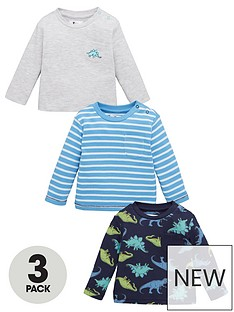 v-by-very-baby-boy-dinosaur-3-pack-jersey-tops-multi