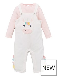 v-by-very-baby-girls-unicorn-romper-ampnbspbodysuit-set-multi