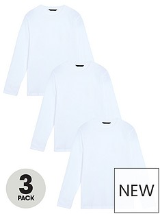 very-man-3-pack-essentials-long-sleeve-t-shirts-white