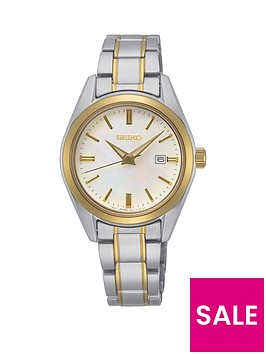 seiko-sur634p1nbspladies-bi-colour-stainless-steel-mother-of-peal-dial-bracelet-watch