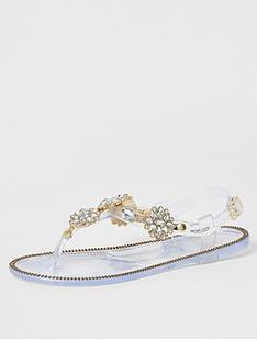 river-island-girls-diamante-embellishednbsptoe-post-sandals-clear