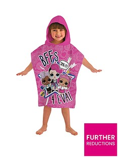 lol-surprise-sing-it-hooded-poncho-towel