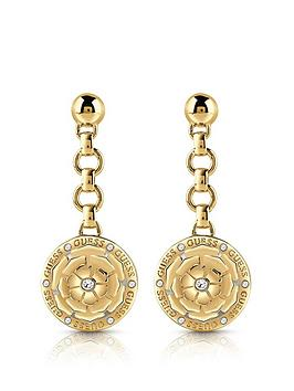 guess-peony-charm-drop-earrings
