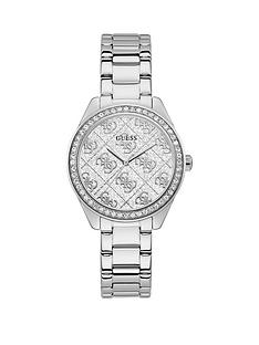 guess-guess-sugar-crystal-silver-glitz-logo-dial-bracelet-watch