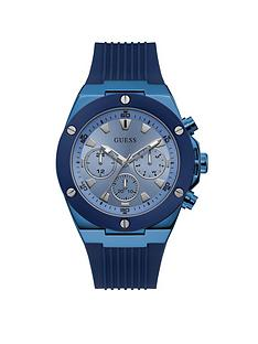 guess-guess-poseidon-sky-blue-mens-silicone-strap-watch