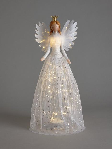 festive-50-cmnbspwhite-angel-with-light-up-dress-christmas-decoration