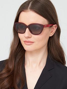 prada-round-sunglasses-red