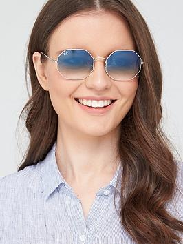 ray-ban-hexaganol-sunglasses-silver